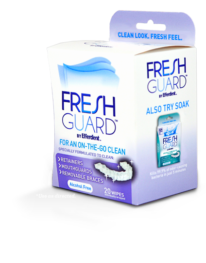 Fresh Guard™ by Efferdent™ Wipes